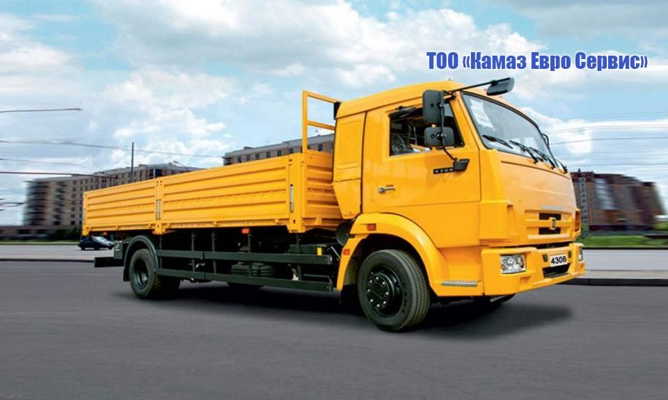 Бортовой КамАЗ 4308 (4х2)