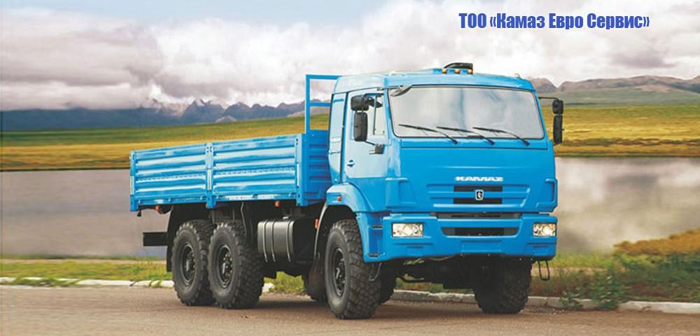 Бортовой КАМАЗ-43118-24 (6х6)