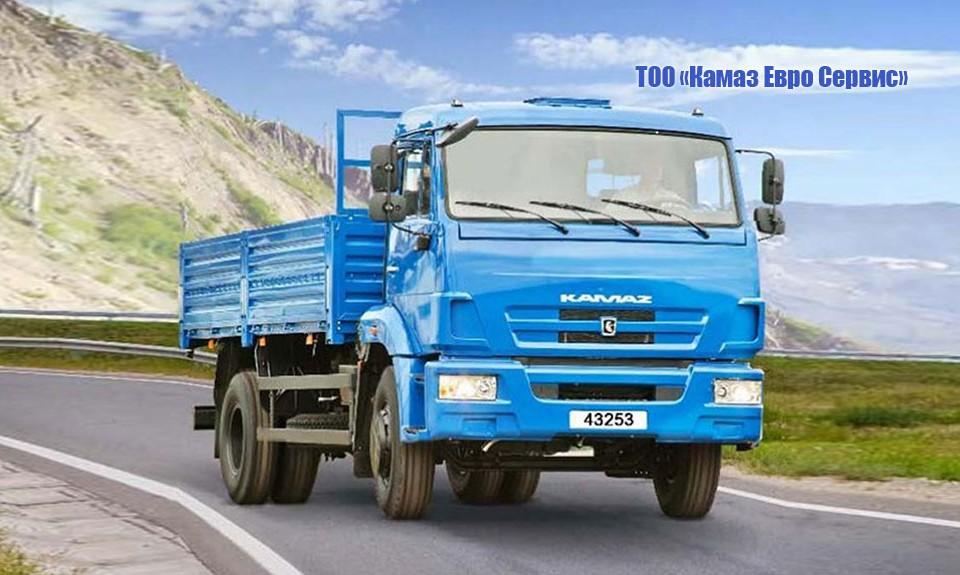 Бортовой КАМАЗ-43253 (4х2)