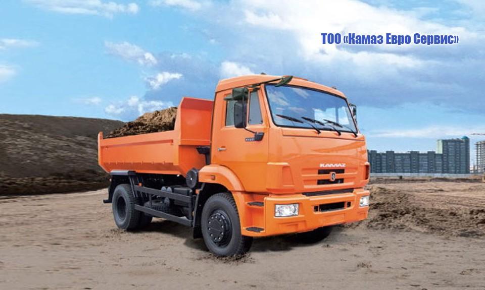 Самосвал КамАЗ 43255 (4x2)