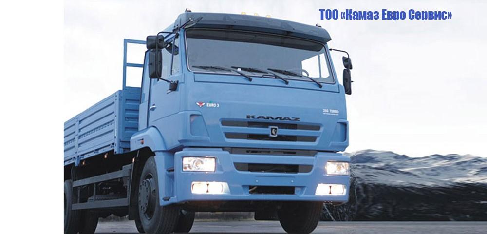 Бортовой КамАЗ-65117