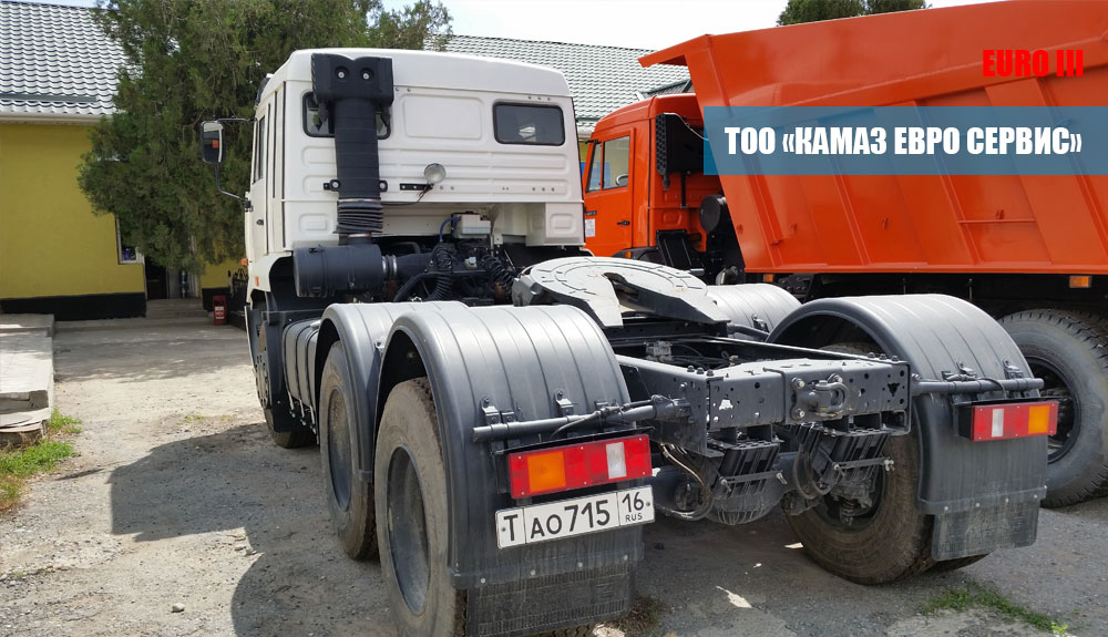 Седельный тягач камаз 65116-019 (Евро3)