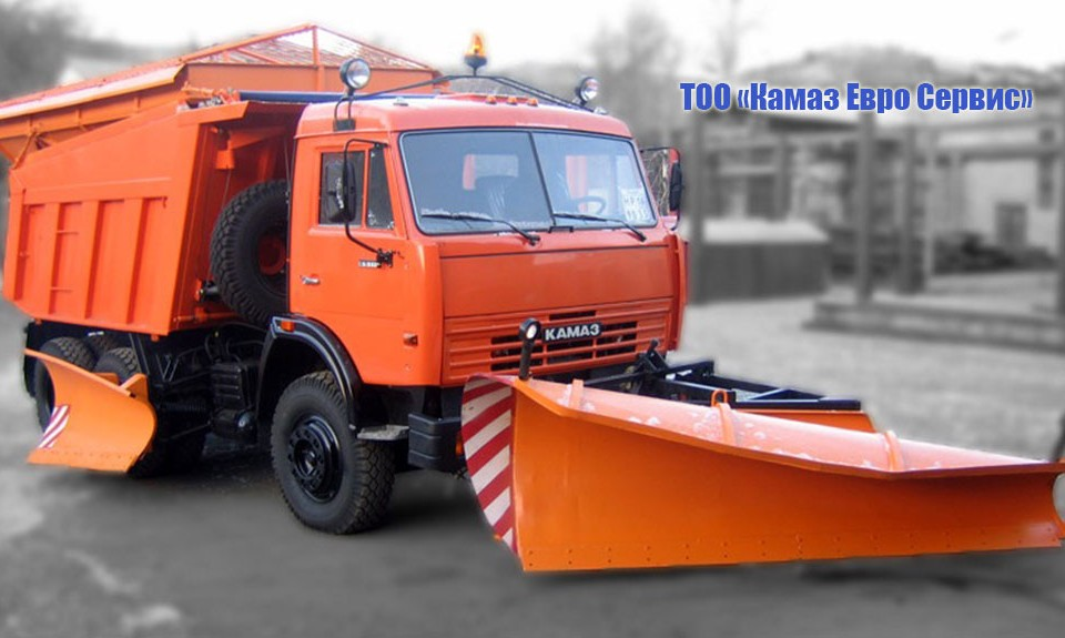 Машина комбинированная уборочная МД-651