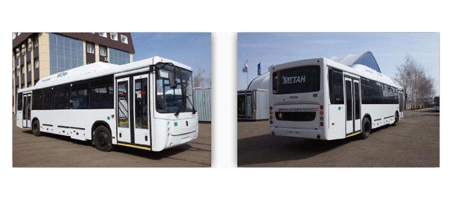 Пригородный автобус НЕФАЗ 5299-11-31 на КПГ ЕВРО-4