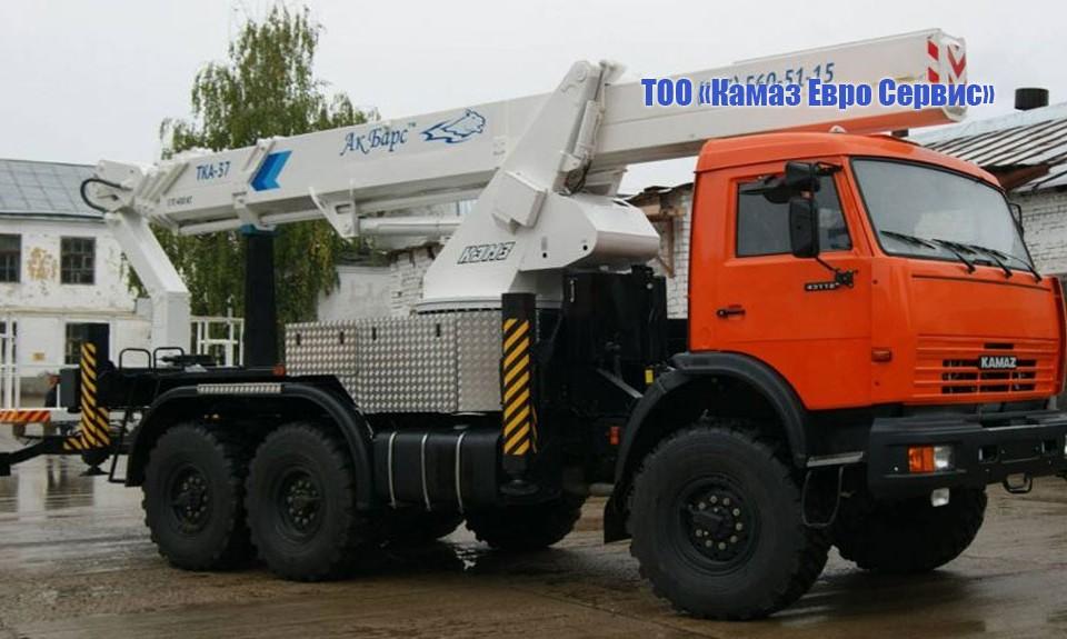 Автогидроподъемник телескопический ТКА-37