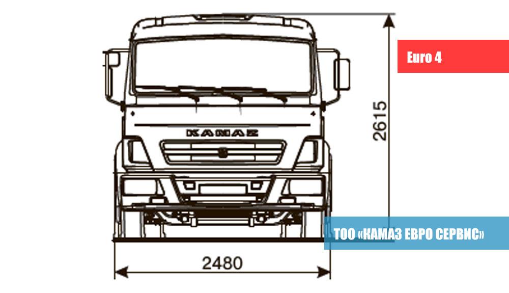 ШАССИ-KАМАZ---4308-R4-2