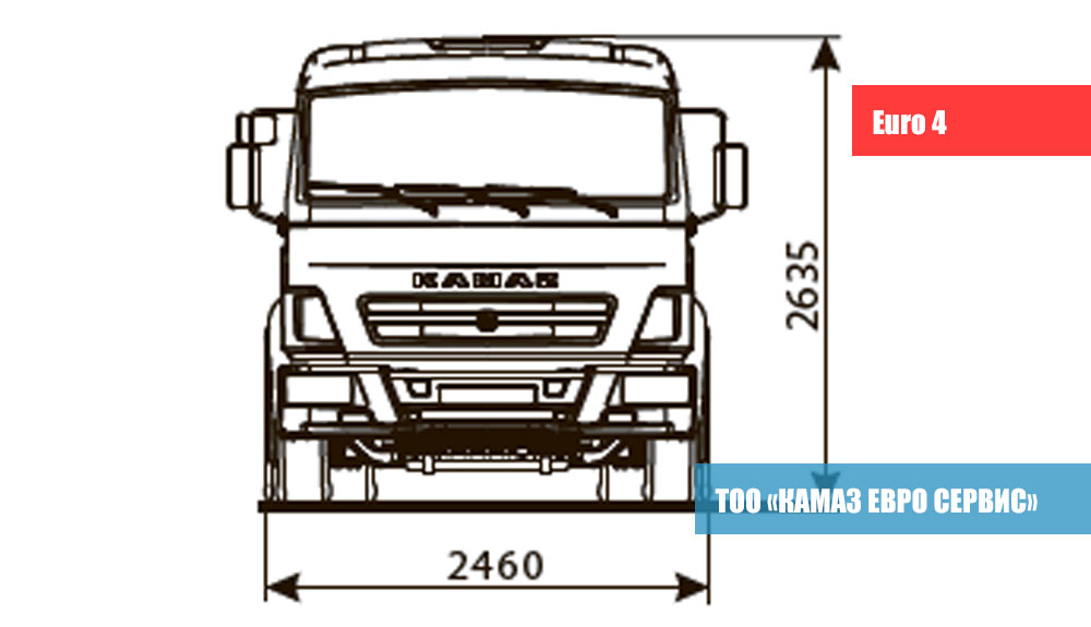 ШАССИ-KАМАZ---5308-A4-2