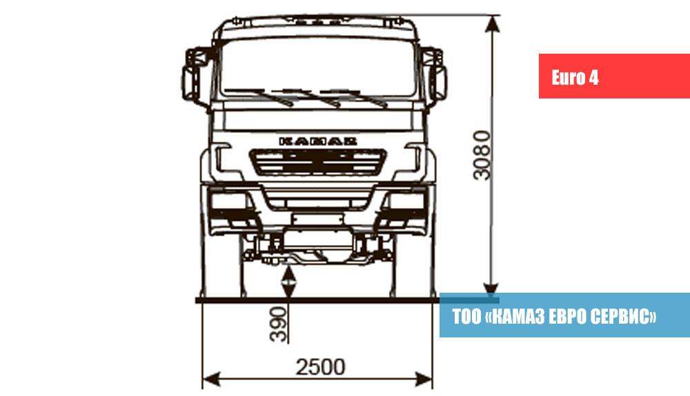 ШАССИ-KAMAZ---5350-42-2