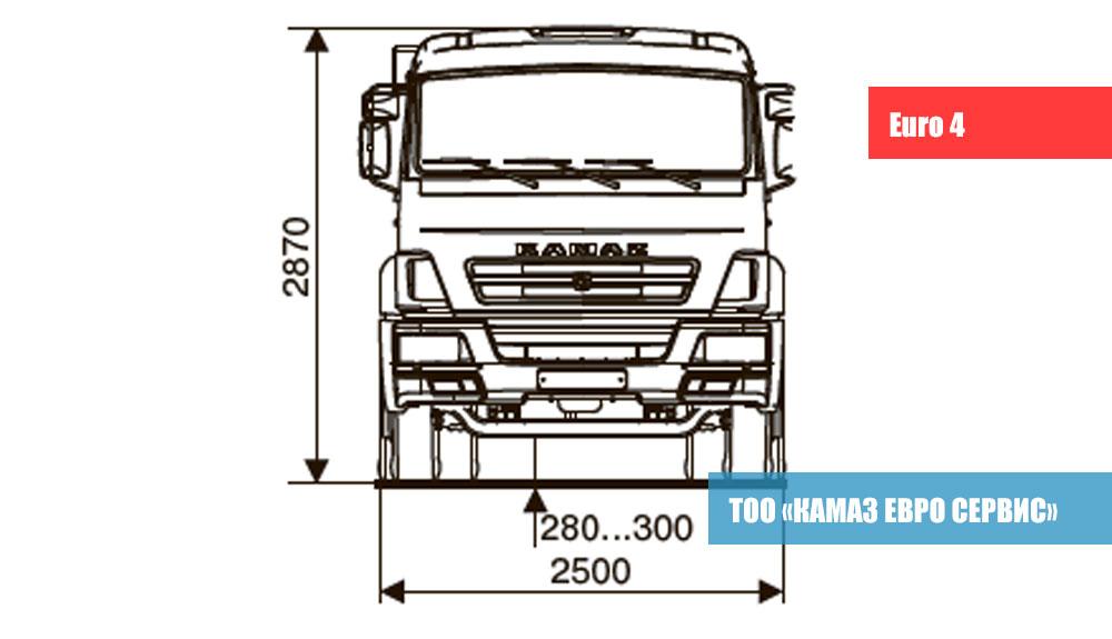 ШАССИ-KАМАZ---65115-А4-2