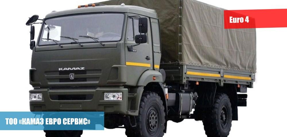 Бортовой КамАЗ-43502-14 (S4)