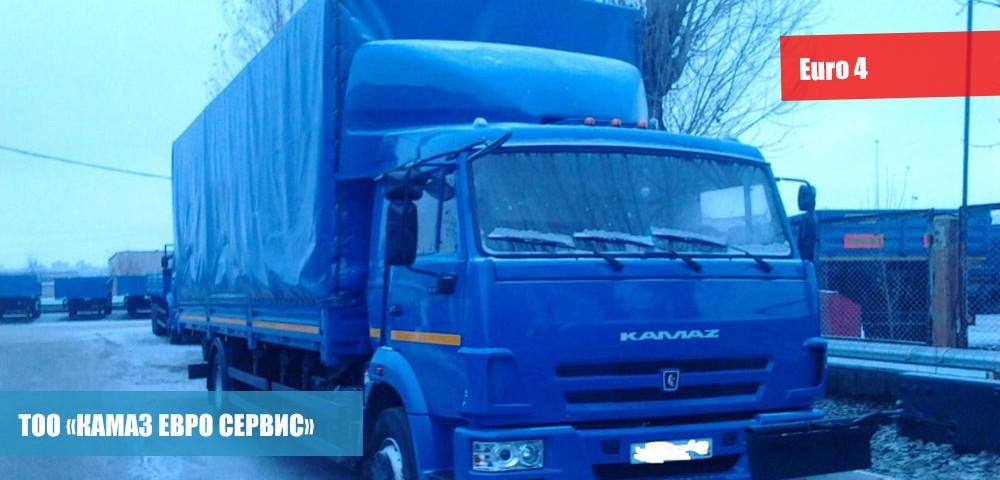 Бортовой КамАЗ-5308-A4