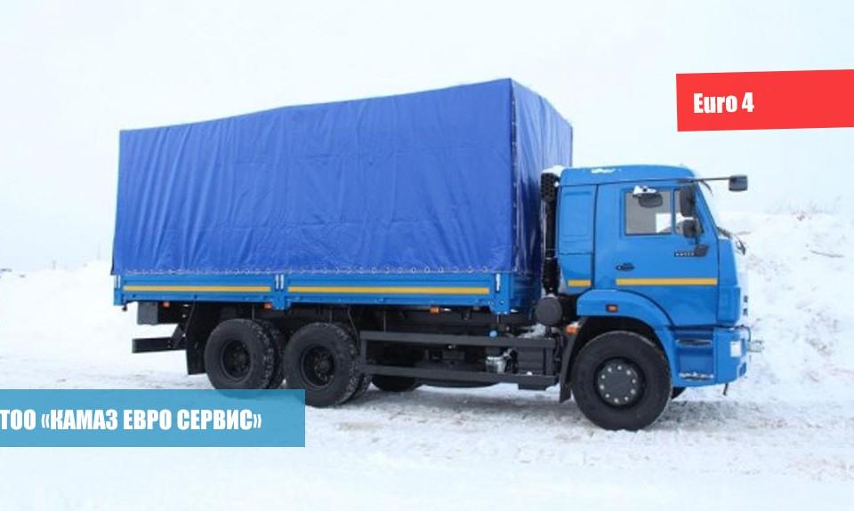 Бортовой КамАЗ-65117-23(А4)