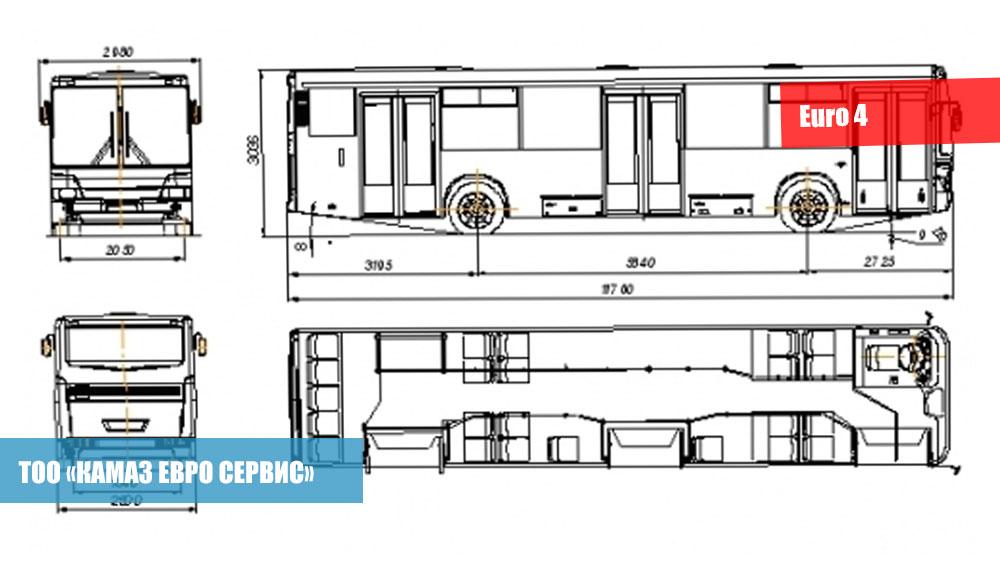 Городские автобусы НЕФАЗ 5299-10-42