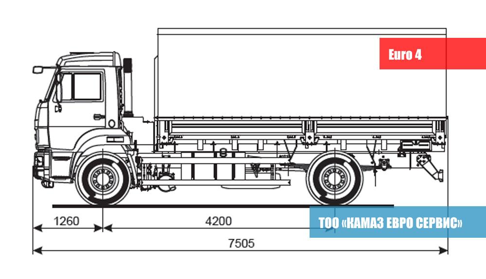 КАМАЗ 43253-28(R4)