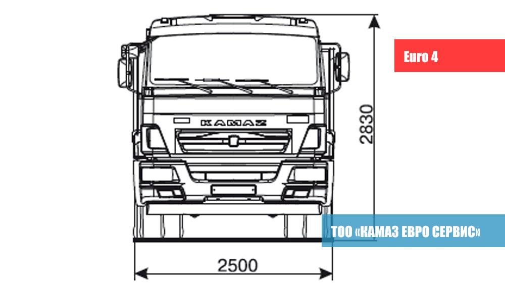 KAMAZ 43255-25 (C4)