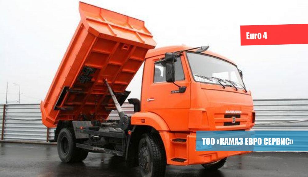 САМОСВАЛ-КамАЗ-43255-25-(C4)-2