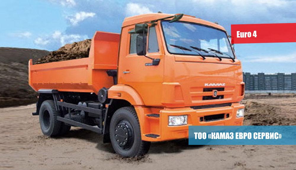 САМОСВАЛ-КамАЗ-43255-25-(C4)-3