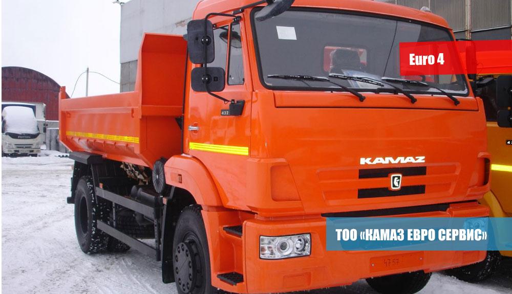 САМОСВАЛ-КамАЗ-43255-R4-3