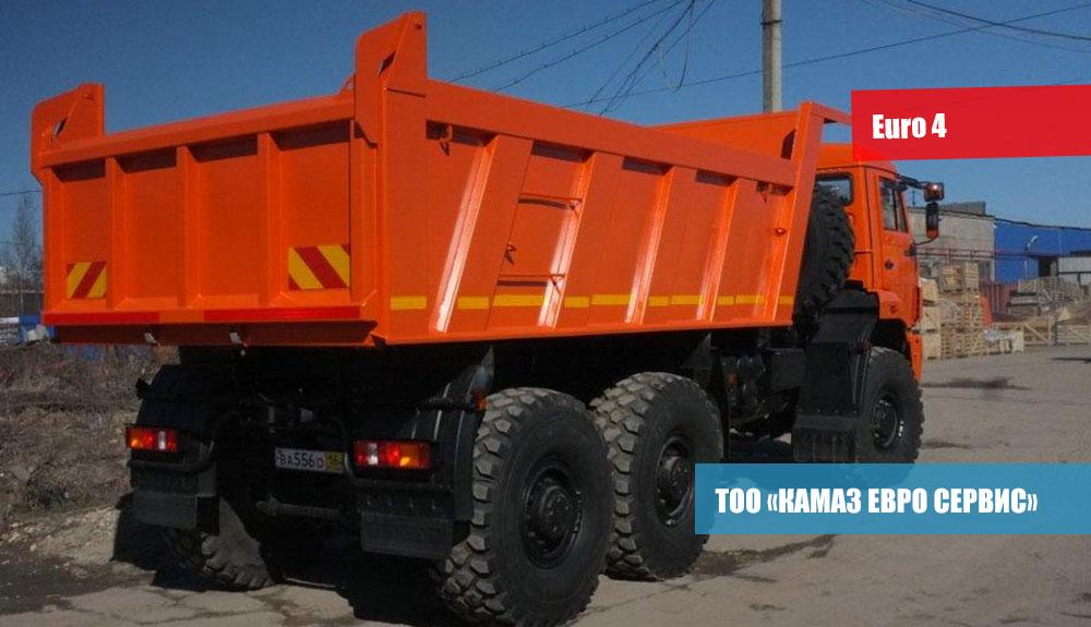 Самосвал-КамАЗ-65222-43-3
