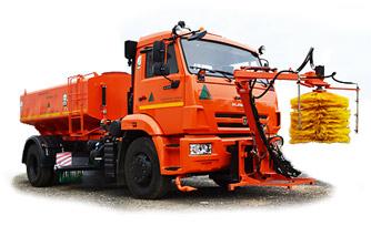 КДМ 7881.04 - поливомоечное оборудование, средняя щётка, оборудование для мойки барьерных ограждений