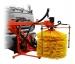Оборудование для мойки барьерных ограждений с высоконапорным увлажнением
