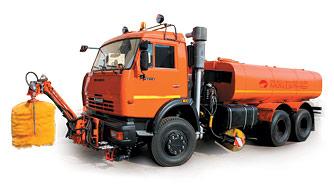 КДМ 7881.02 - оборудование для распределения увлажненной соли, средняя щётка
