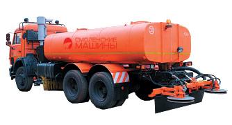 КДМ 7881.02 - оборудование для распределения жидких реагентов, высоконапорная мойка, средняя щётка